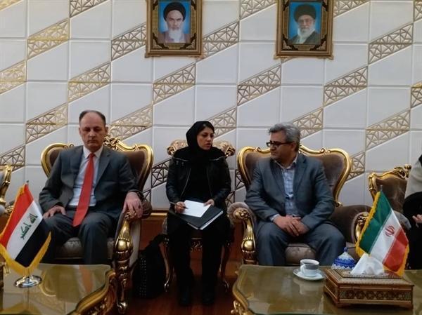 وزیر گردشگری عراق وارد تهران شد