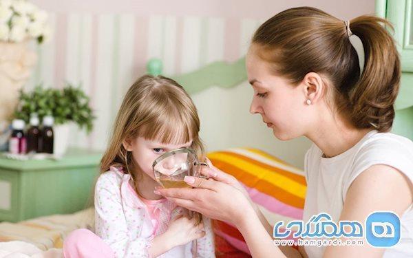 مصرف دمنوش برای بچه ها ممنوع