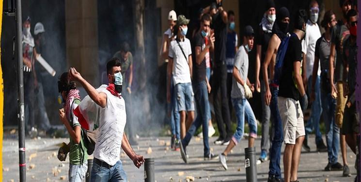 معترضان خشونت طلب، نیروی پلیس لبنان را در آسانسور کشتند