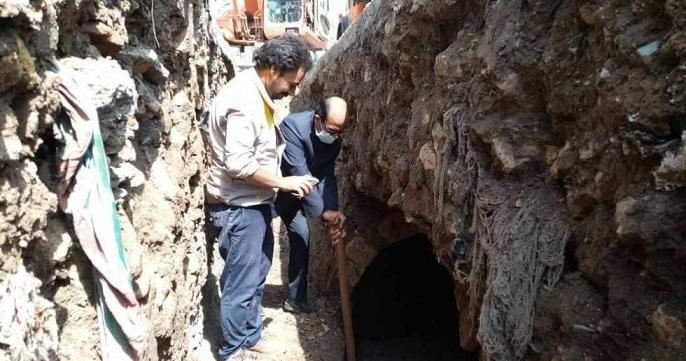 کشف آب انبار تاریخی در تربت حیدریه