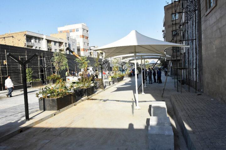 میدانگاه امیرکبیر پس از شش سال وقفه افتتاح شد ، بهره برداری از ایستگاه مترو امیرکبیر در آینده نزدیک