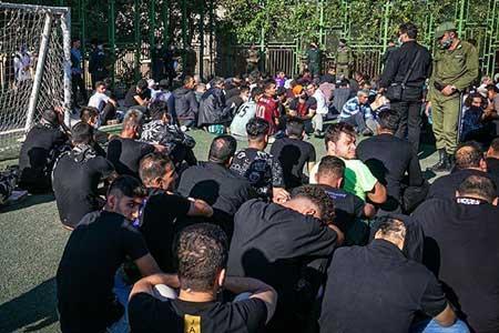 دستگیری 1287 خرده فروش و قاچاقچی مواد مخدر در تهران