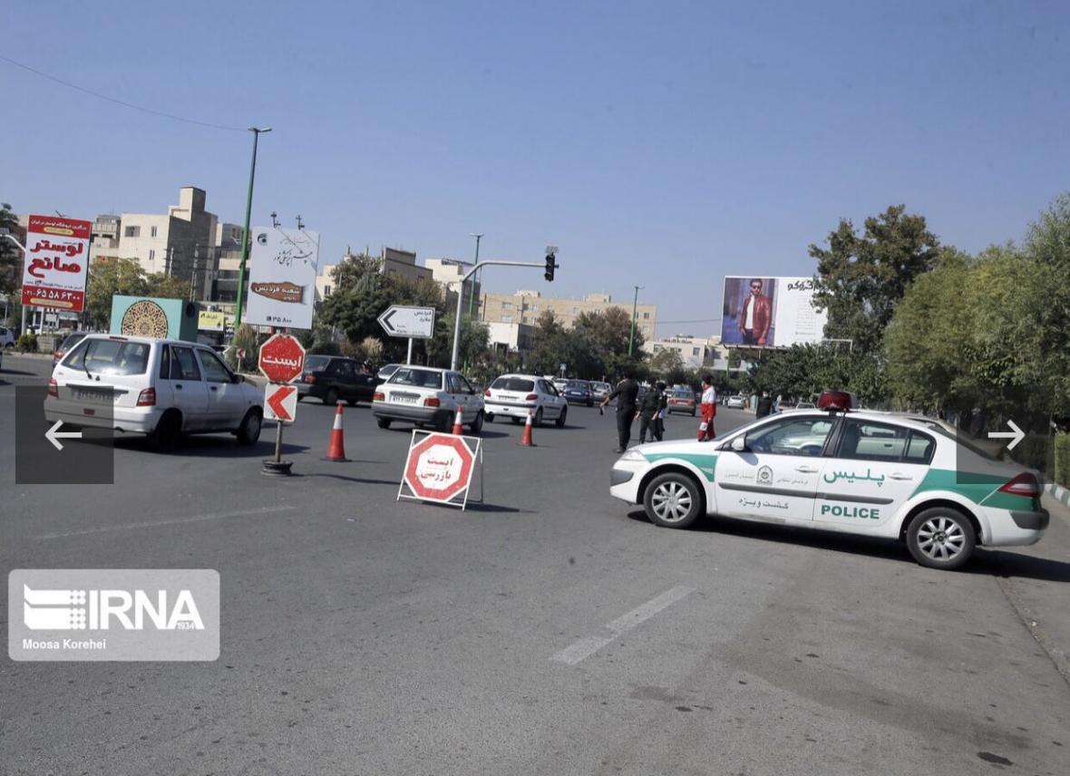 خبرنگاران طرح فاصله گذاری اجتماعی در ورودی و خروجی های البرز اجرا می گردد