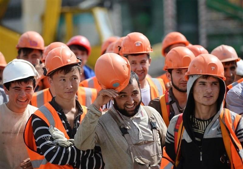 کاهش 22 درصدی تعداد مهاجرین کار خارجی در روسیه