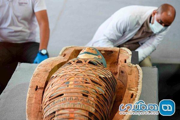 اعلام کشف بیش از 100 تابوت باستانی در مصر