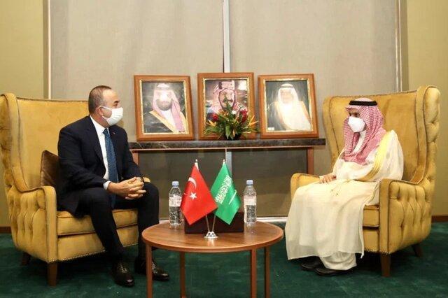 اولین ملاقات وزرای خارجه عربستان و ترکیه پس از ترور خاشقجی