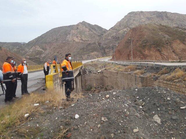 انسداد چند محور شهری و روستایی در استان بوشهر