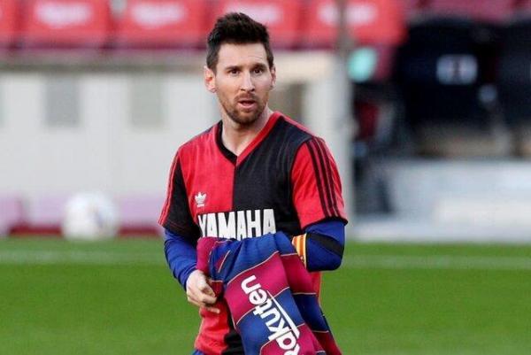 جریمه مسی به خاطر گرامیداشت مارادونا