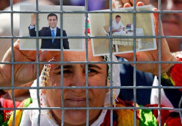 شورای اروپا هم خواهان آزادی فوری دمیرتاش در ترکیه شد