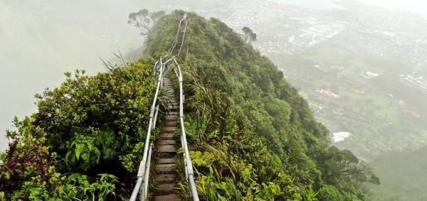 تور آمریکا: پله های هایکو، مسیری به سمت بهشت