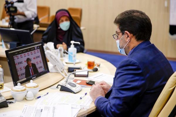 خبرنگاران هلال احمر آموزش همگانی را از ابتدای شیوع کرونا اجرا کرد