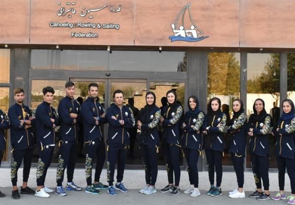 تیم ملی روئینگ به مسابقات انتخابی المپیک اعزام می گردد