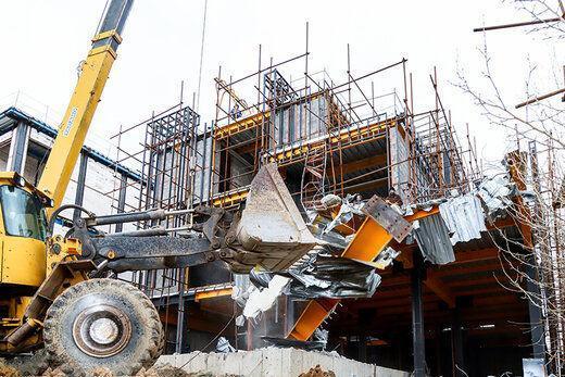 کاهش چشمگیر ساخت و ساز در فروردین