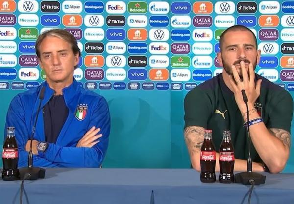 یورو 2020، کنفرانس خبری ایتالیا به علت کرونایی شدن روزنامه نگاران لغو شد