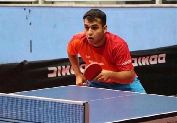 هدایی، اولین ملی پوش ایران در مسابقات تنیس روی میز قهرمانی آسیا
