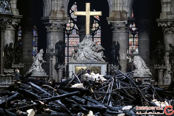پس از آتش سوزی چه بر سر کلیسای نتردام آمد؟