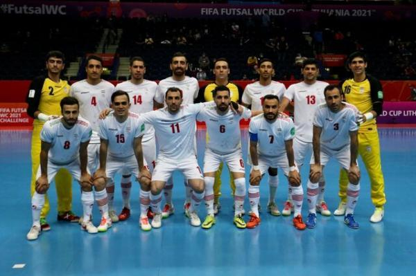 خداحافظی تیم ملی فوتسال ایران با جام جهانی